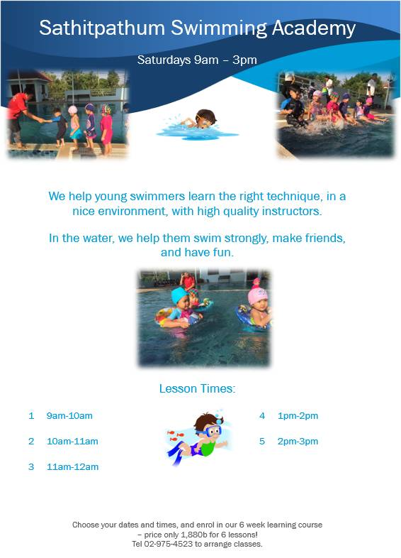 Sathitpathum Swimming Academy 2